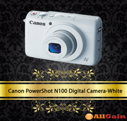 Buy Canon PowerShot N100 Digital Camera-White