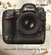 Get Nikon D4s DSLR Camera Body-Black Online in AU