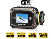 1080P HD camera mini dv Outdoor sport camera Waterproof wifi camera