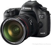 Canon EOS 5D Mark iii Digital SLR Camera.