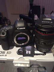 Selling Canon 5D Mark iii Body & 24-105mm Lens 10, 190 Shutter Count!