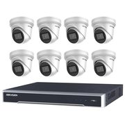 Check Online 8 Hikvision 8MP IR Fixed Turret with 8Ch NVR