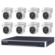 Purchase Online 8 Hikvision AcuSense 8MP IR Fixed Turret with 8Ch NVR